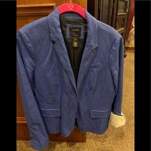 J Crew Blue linen jacket